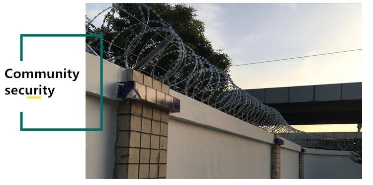 concertina wire razor wire community securuty