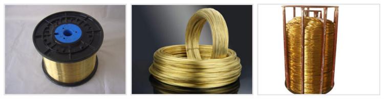 Brass wire copper wire