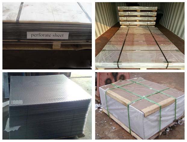 Pre-Crimped wire mesh panel loading
