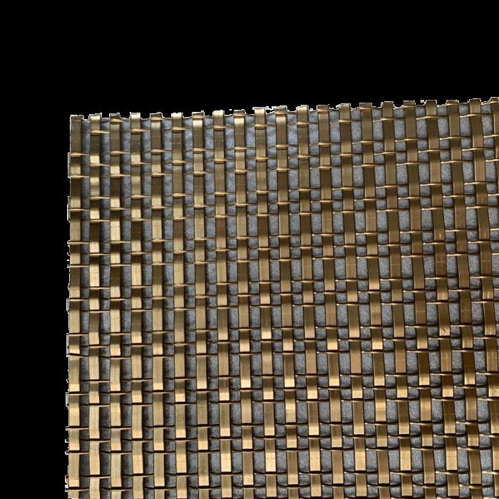 copper alloy braided woven decorative mesh